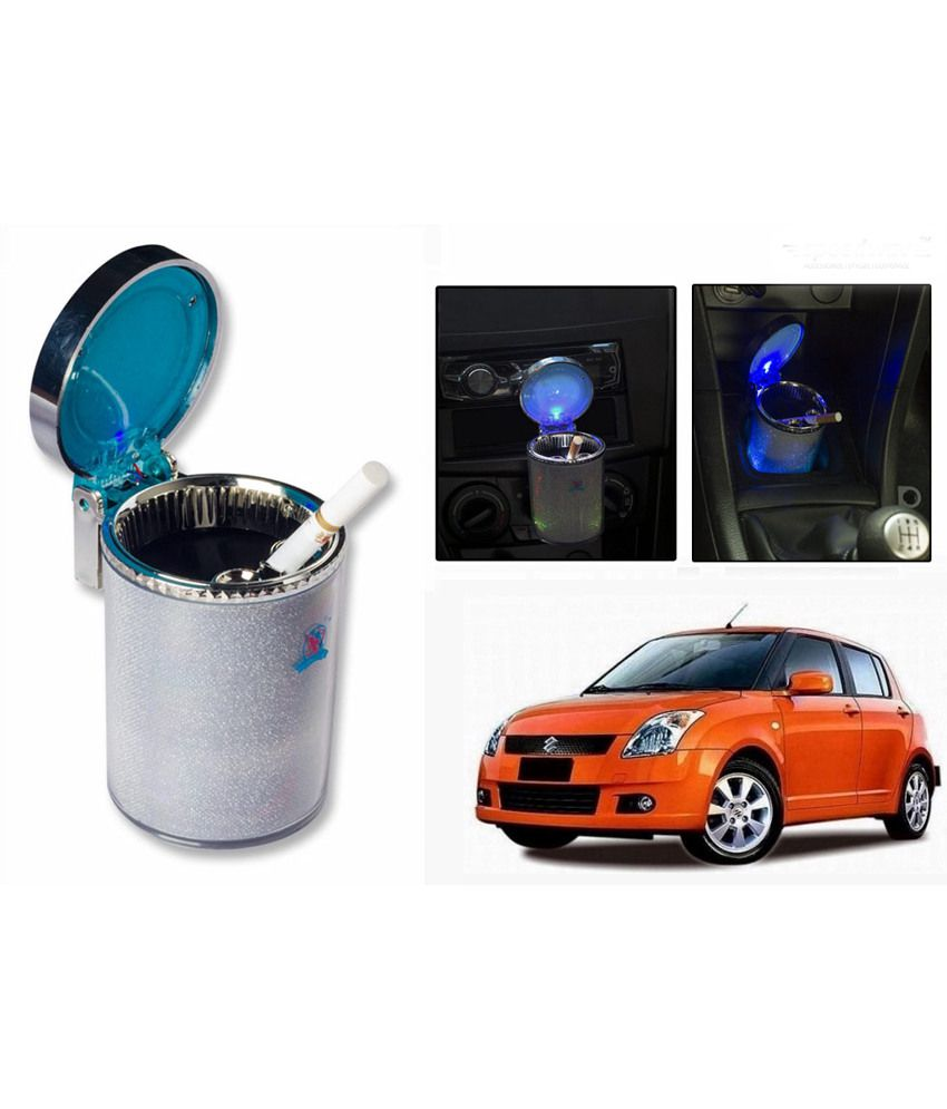 Colour changing car technology - Speedwav Color Changing Car Cigarette Led Ashtray Silver Maruti Swift Old