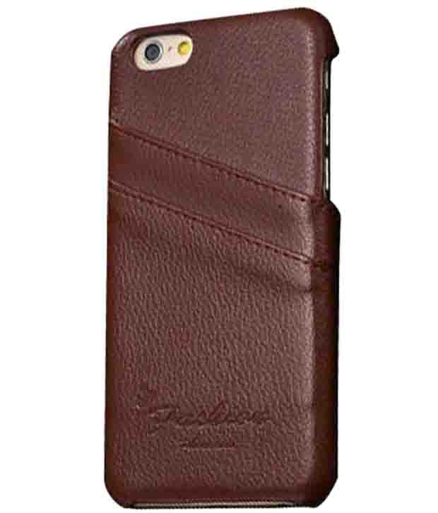 Excelsior Premium Genuine Leather Back Cover For Iphone 6 Plus (5.5 Inch) - Brown