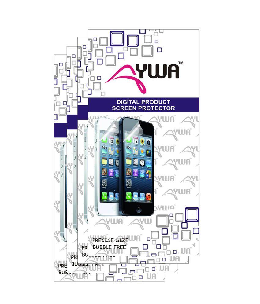 Aywa(Pack Of 4)Anti Fingerprint Anti Glare Screen Protector Scratch Guard For Xiaomi Redmi 1s