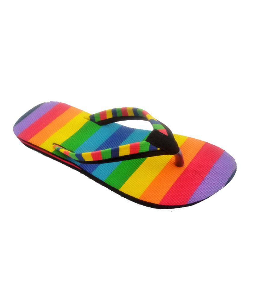 ERA Multi Color Slippers