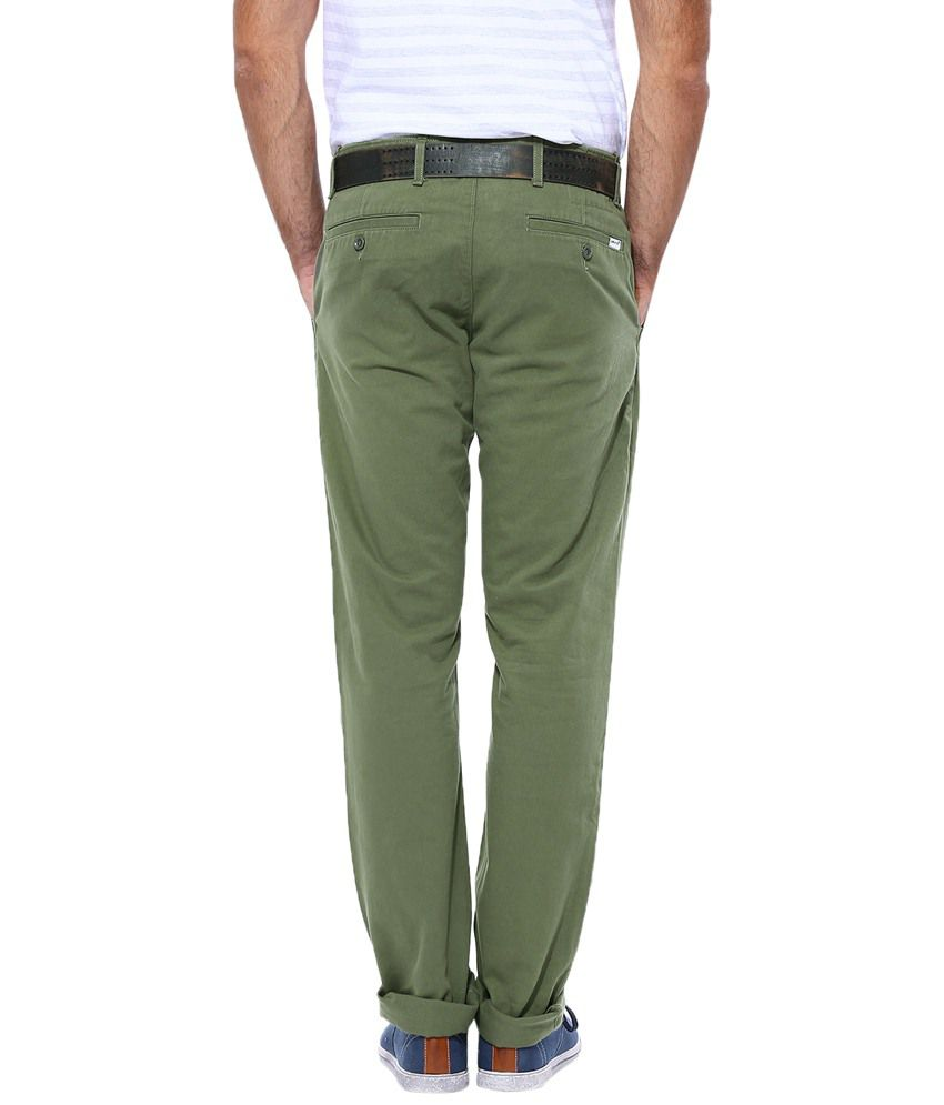 06cfb207f8d Levi's Green Woven Pant - Buy Levi's Green Woven Pant Online at Best ...