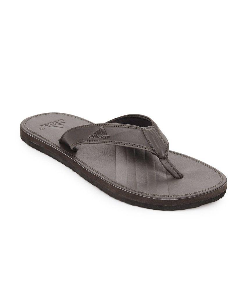 3bdf5cae7 Adidas Brown Casual Brizo Flip-flops Price in India- Buy Adidas Brown  Casual Brizo Flip-flops Online at Snapdeal