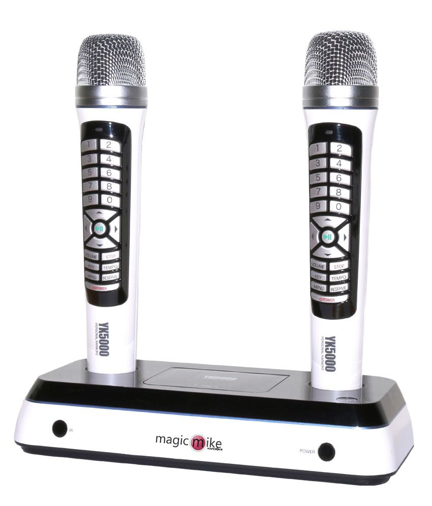Buy Kortek Yk5000 Dual Wireless Karaoke Microphone(Mic ...