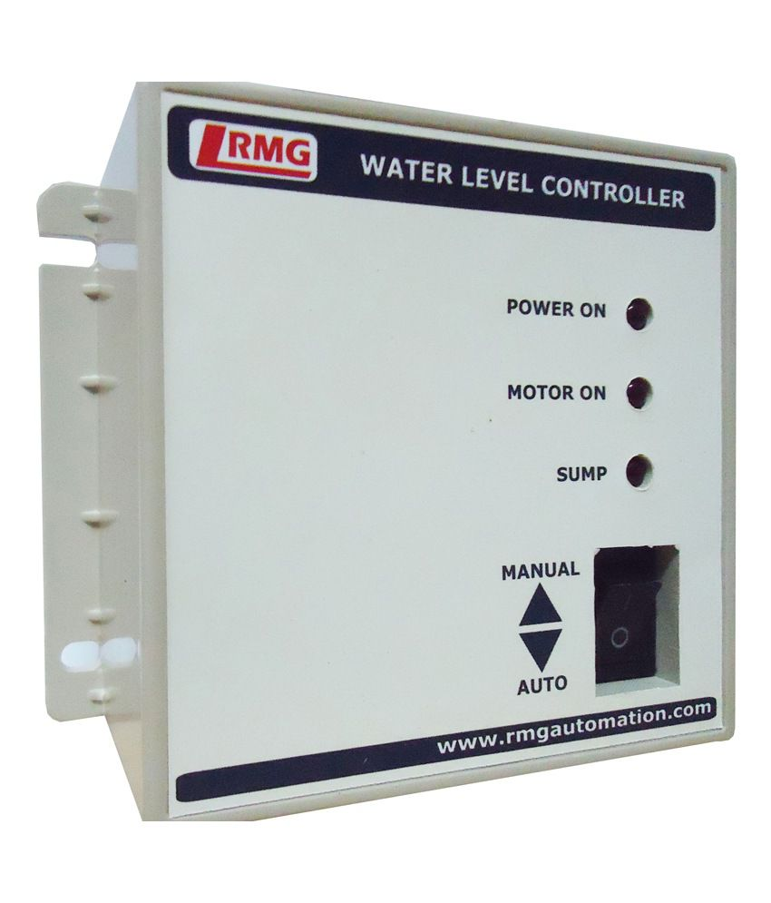 Buy Rmg Automatic Water Level Controller For Motor Pump Operated By Switch Mcb Upto 15 Hp