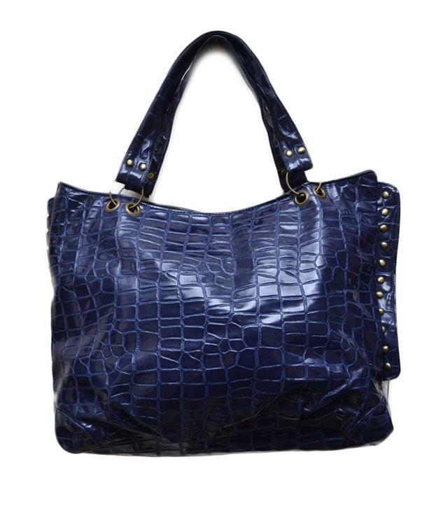 Jks Blue Non Leather Women Shoulder Bag