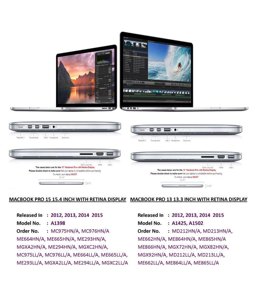 Pindia Black Apple MacBook Air 11 11 6 Inch A1465 Anti Dust Ports