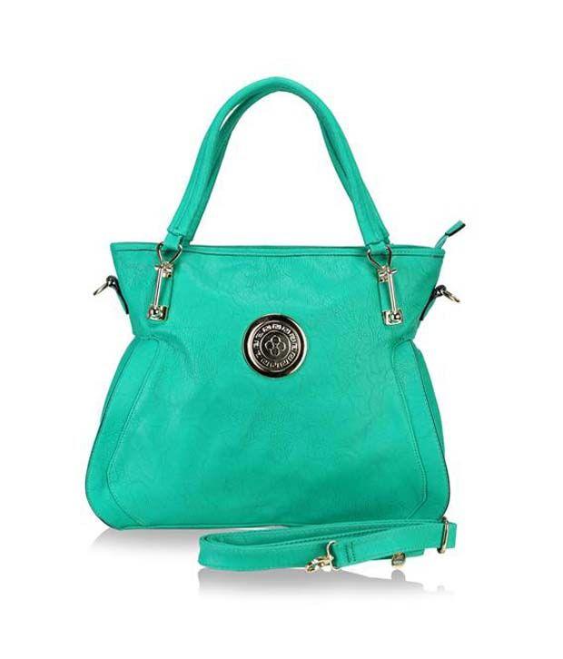Lalana Green P.u. Shoulder Bag