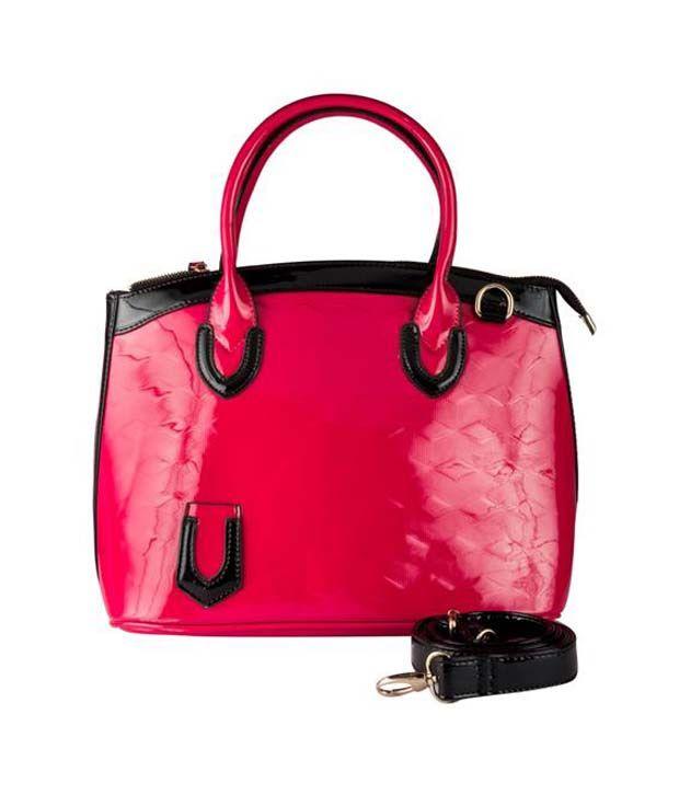 Lalana Pink P.u. Satchel Bag