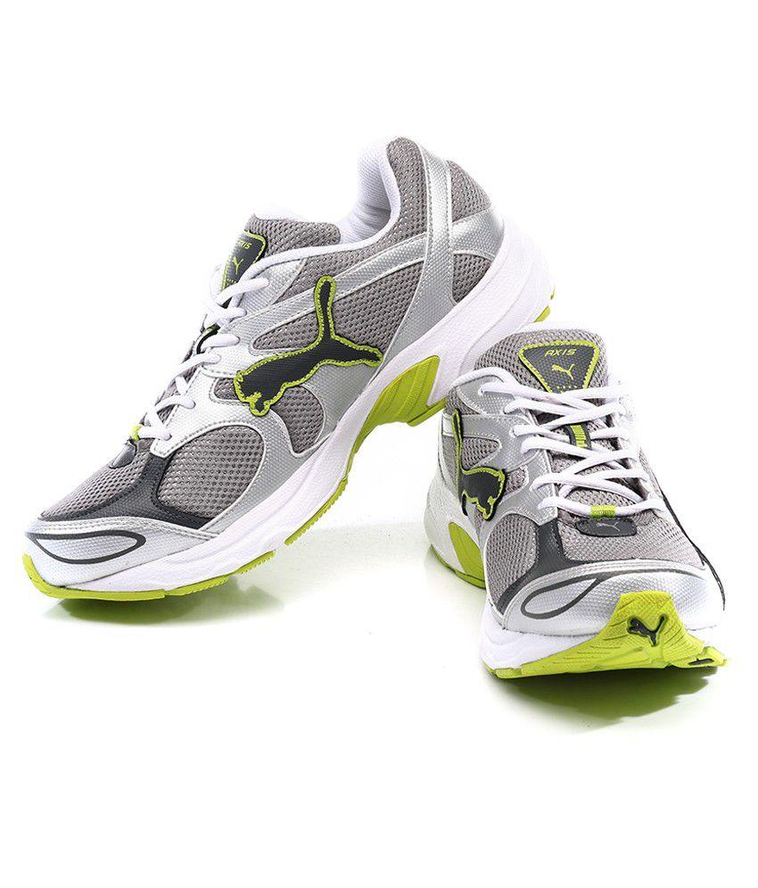Puma Axis Iii Dp White Sport Shoes - Buy Puma Axis Iii Dp White ... e92646025f12