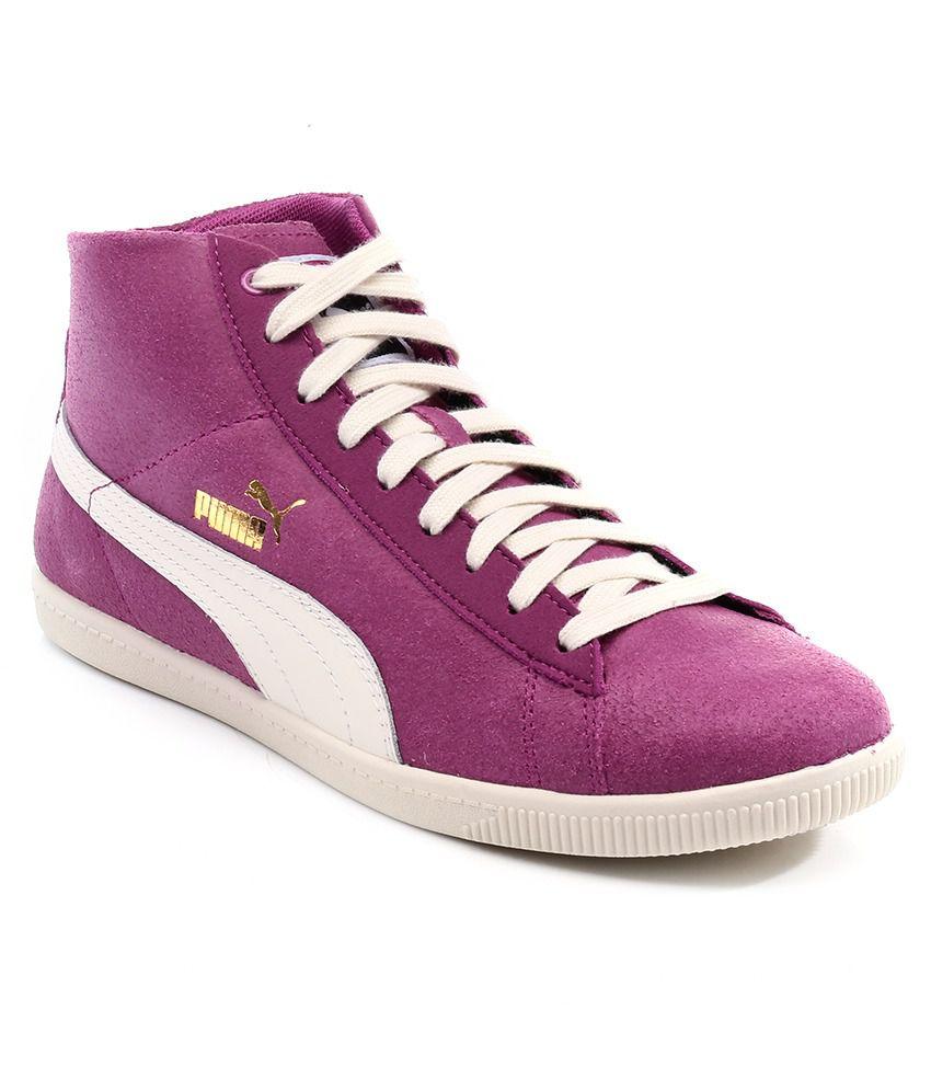 Puma Glyde Mid Basic Sports Purple