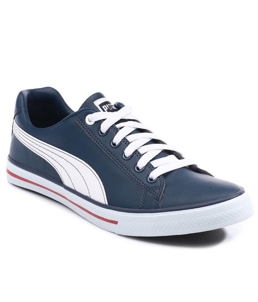 Sneakers blu navy per unisex Puma 6F605Mk