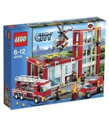 Lego City Fire Station Building Set Construction Set