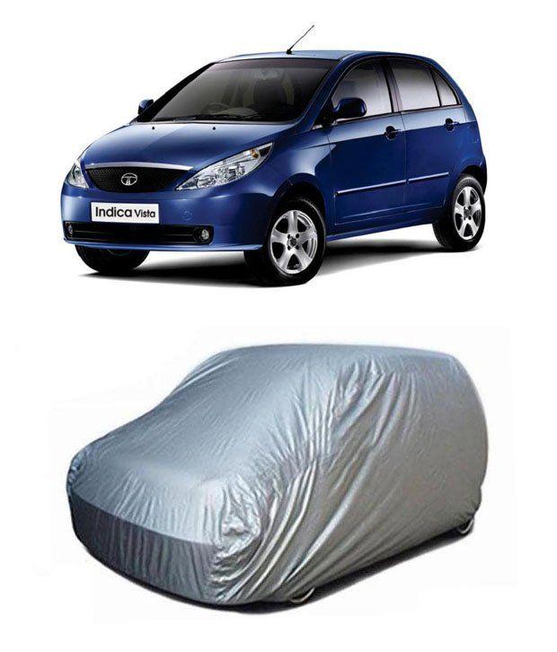 high quality car body cover silver tata indica vista buy high rh snapdeal com www Tata Car New Tata Indica Vista