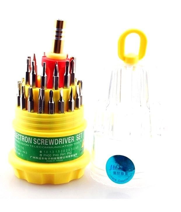 Jackly 31-in-1 Screw Driver Set Magnetic Toolkit