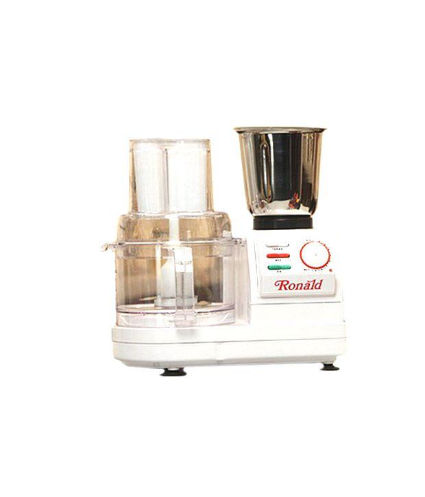 ronald mixers food processor