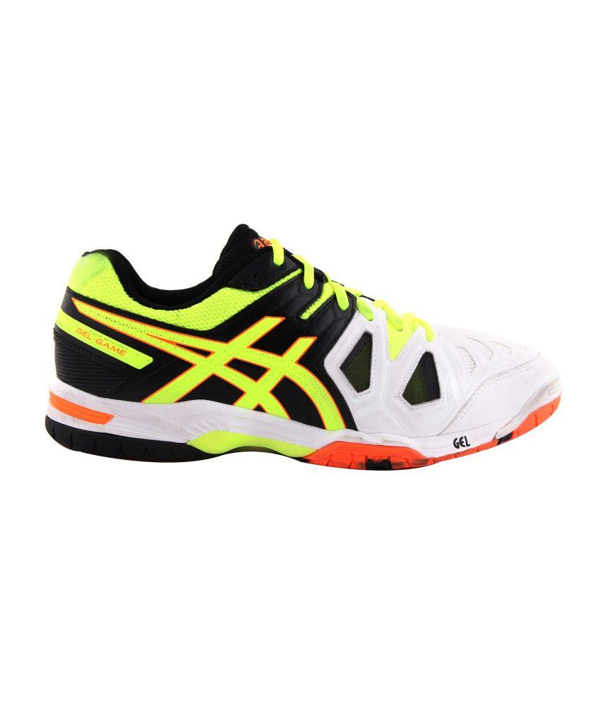 Asics Hommes Blanc Blanc Tennis Sport Asics Chaussures Gel Game 5 5 Acheter Asics Hommes Blanc 20675c1 - ringtonewebsite.info