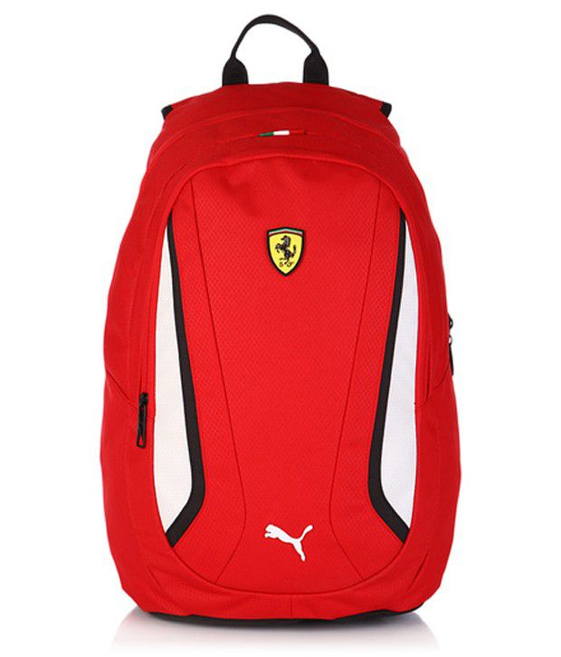 Puma Red Ferrari Replica Backpack Buy Puma Red Ferrari