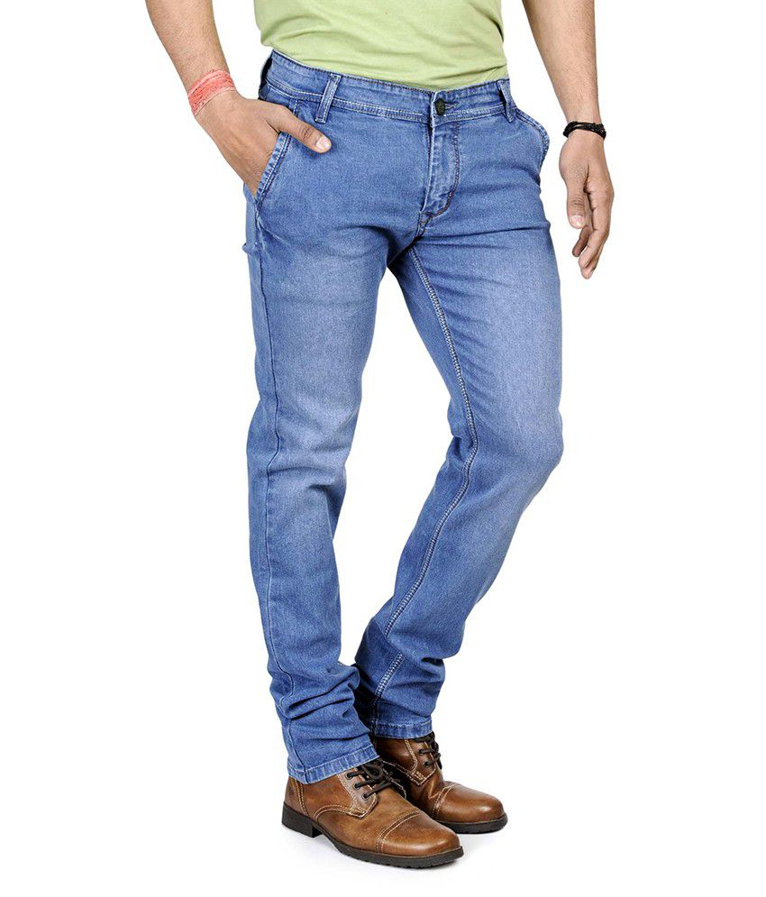 Eprilla Blue Slim Fit Men's Jeans - Buy Eprilla Blue Slim Fit ...