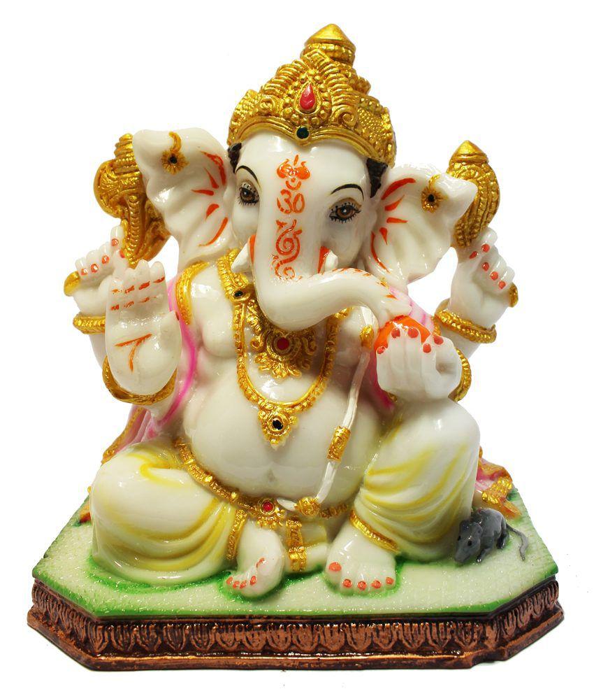 Geetartz Glossy Ganesha Idol