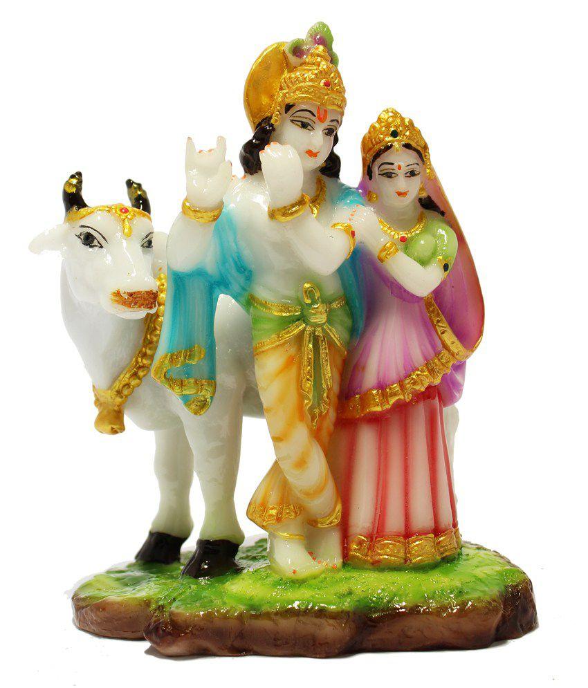 Geetartz Glossy Radha Krishan Idols