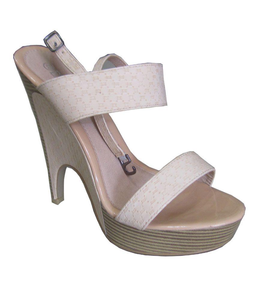 B22 Gray High Heel Pumps