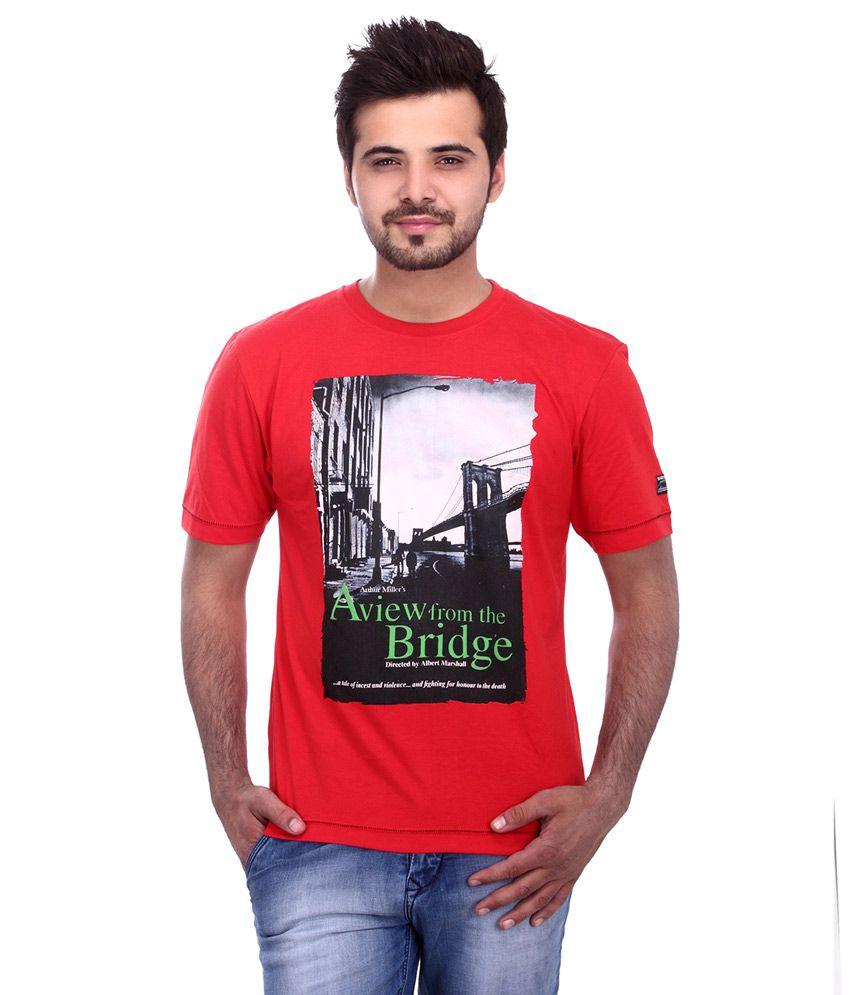 Cobb Red Men's T Shirt
