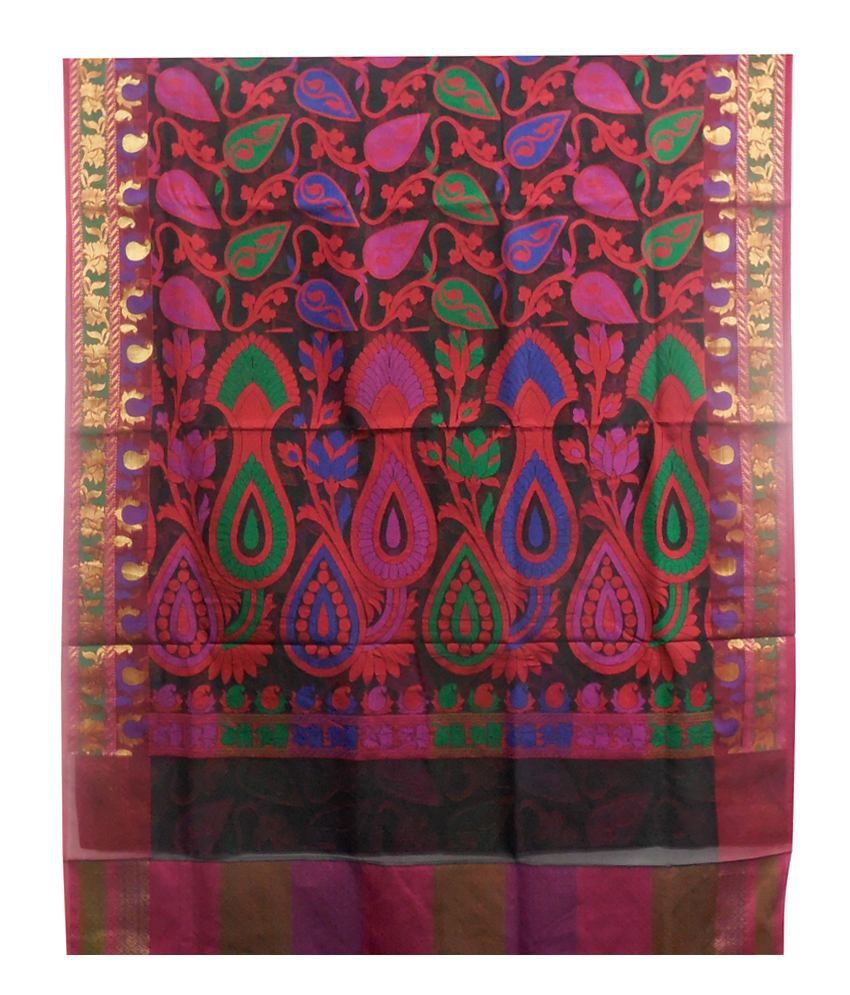 Dhanlaxmi Sarees Multicoloured Art Silk Sarees