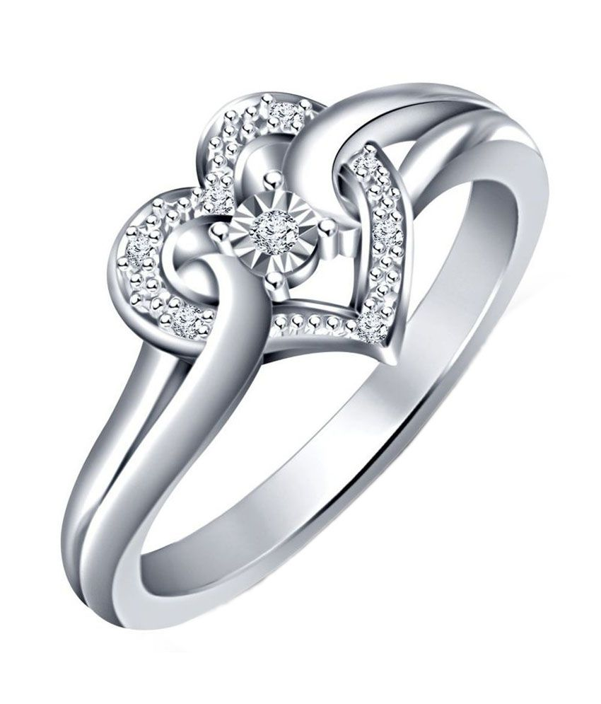 2ffae224a Rm Jewellers 92.5 Sterling Silver American Heart Best Design Stylish Lovely  Ring: Buy Rm Jewellers 92.5 Sterling Silver American Heart Best Design  Stylish ...