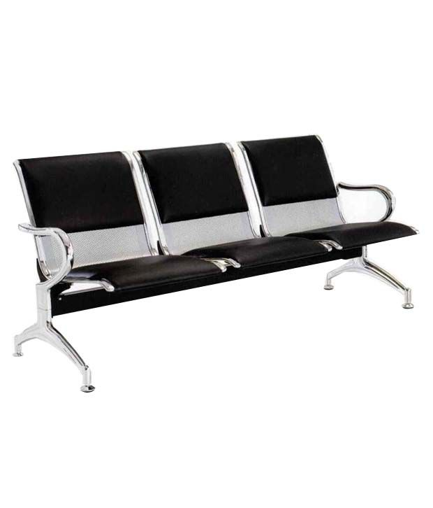 3 Seater Visitor Bench With Half Cushion Buy 3 Seater