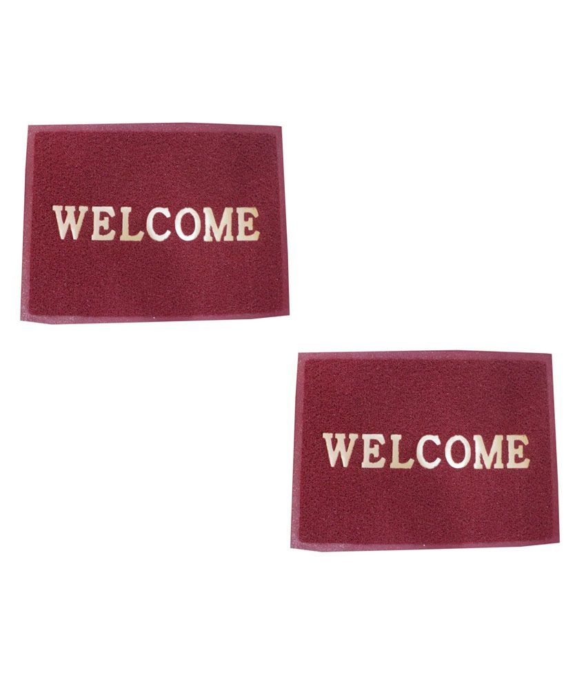 Welcome To Raj Trading Co: Rajeev Trading Company Welcome Door Mat Set Of Two