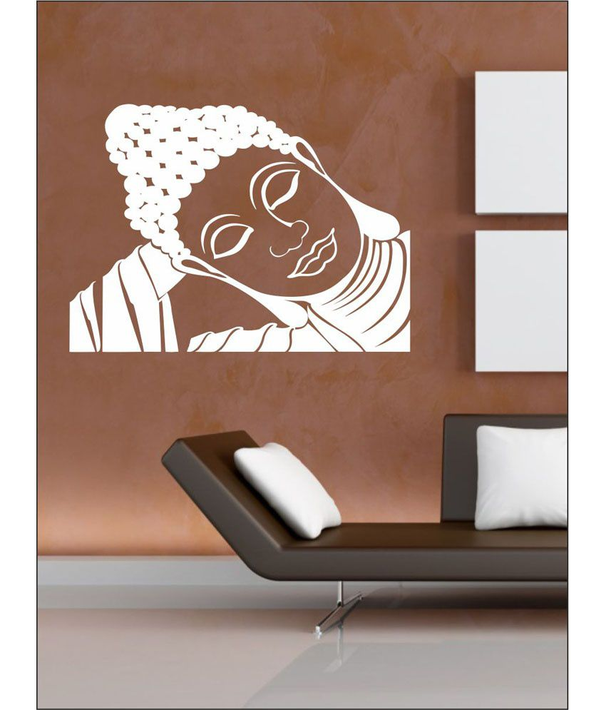 wall1ders sleeping buddha white stickers giant buy