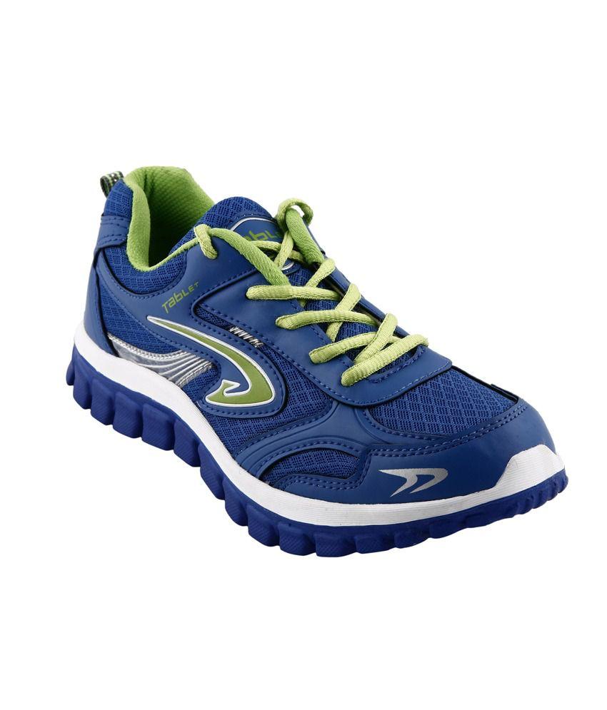 Columbus Blue Meshtextile Sport Shoes