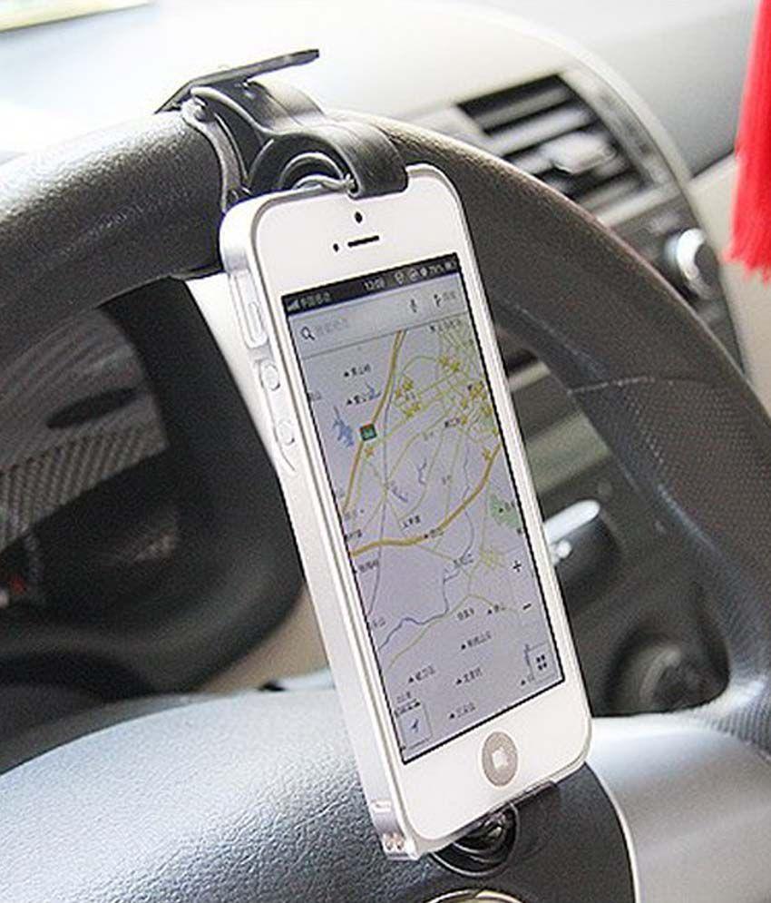 Steering Mount - Car Mobile Holder: Buy Steering Mount - Car ...