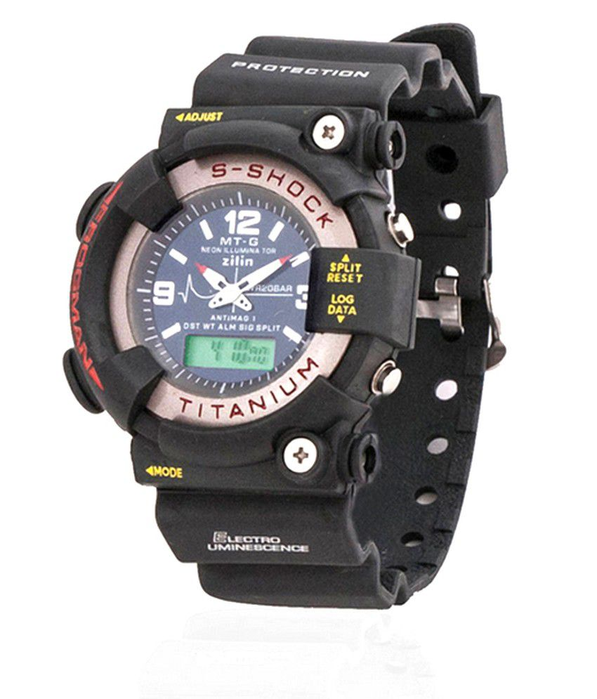 23075fb43 Mtg Sports S-shock Titanium Analog-digital Watch - Buy Mtg Sports S-shock  Titanium Analog-digital Watch Online at Best Prices in India on Snapdeal
