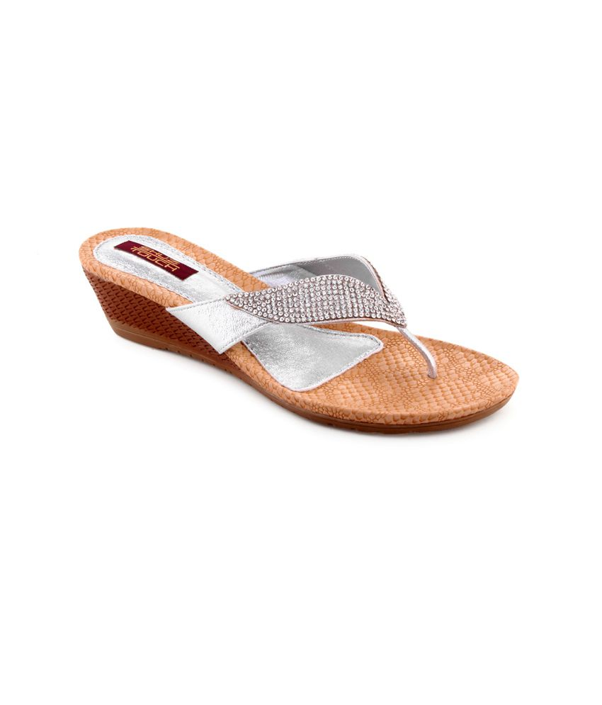Shuztouch Silver Party Slipon