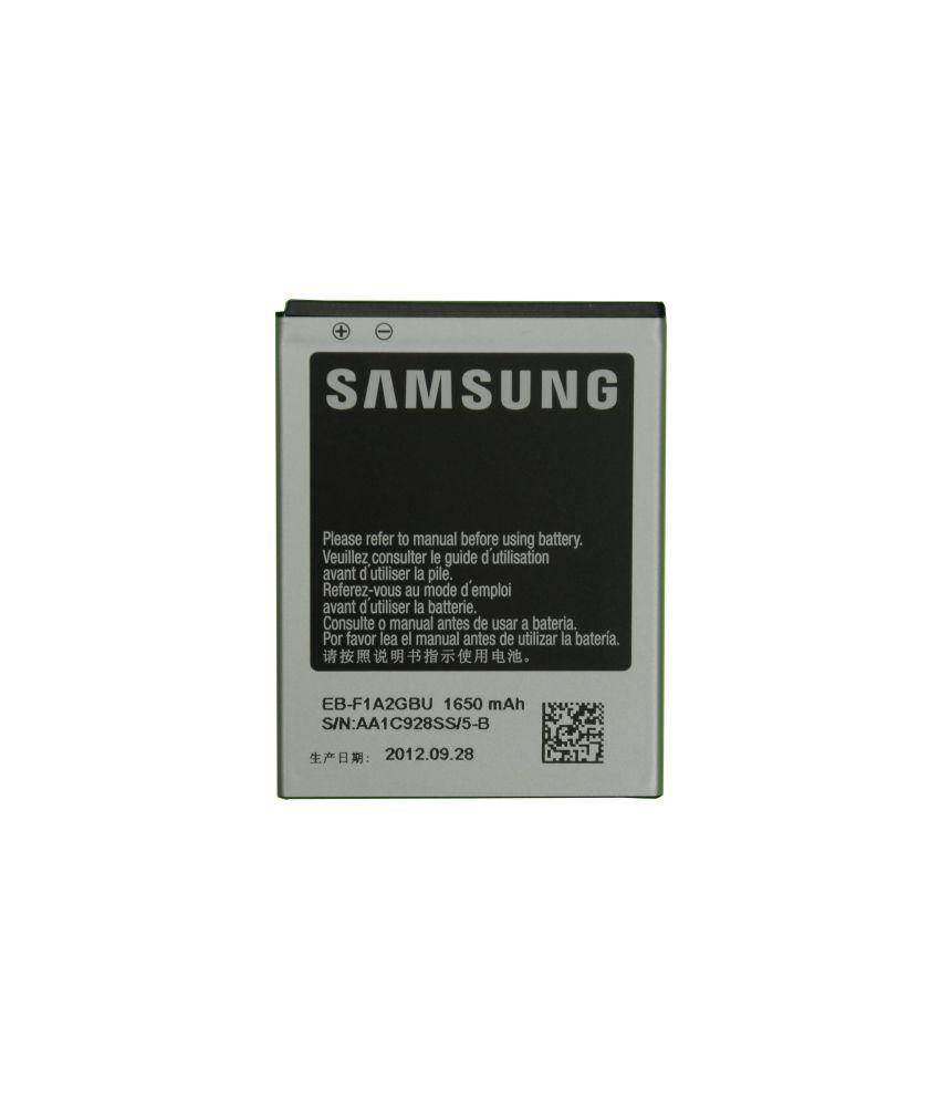 Samsung Galaxy S2,gt-i9100,gt-i9100g,gt-i9100t Original Mobile Battery With Model Eb-f1a2gbu