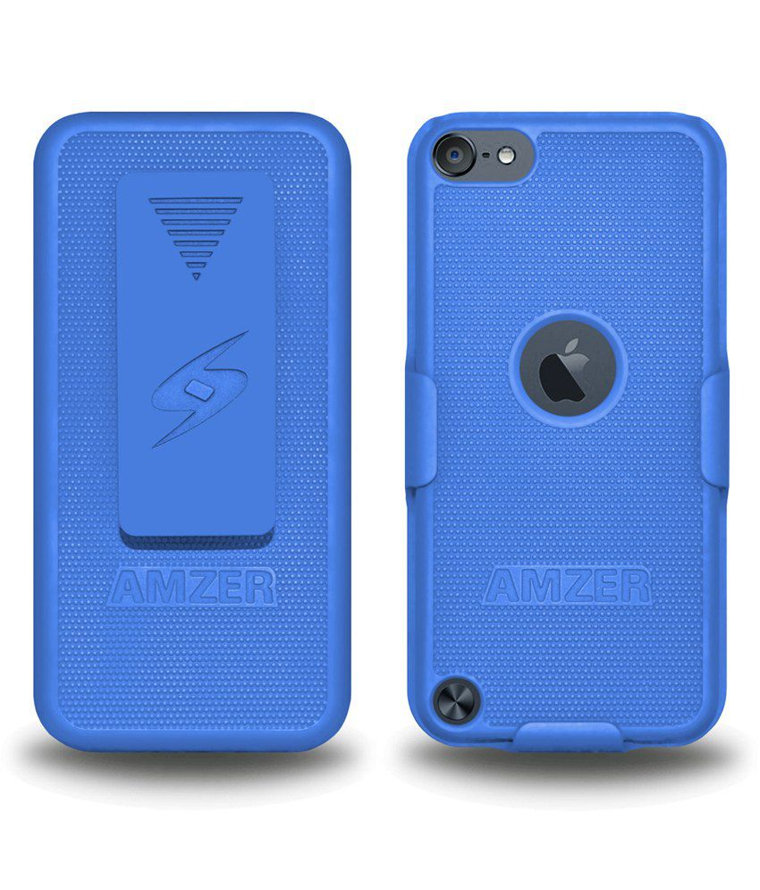 Amzer Back Cover For Ipod Touch 5Th Gen,6Th Gen-Blue