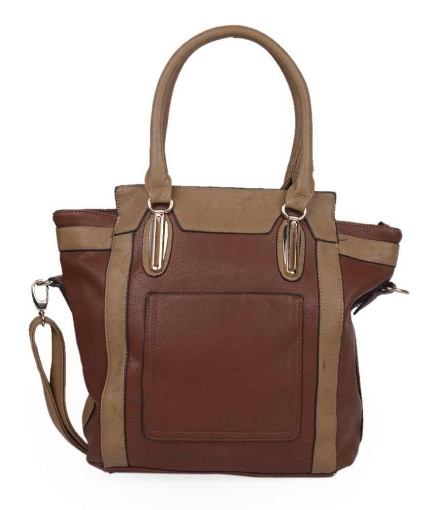 ADISA Brown Shoulder Bags For Women