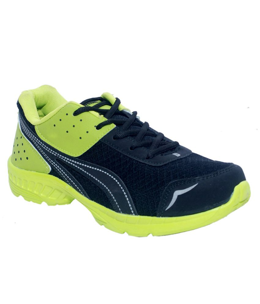 Corpus Green Density Sports Shoes for Men