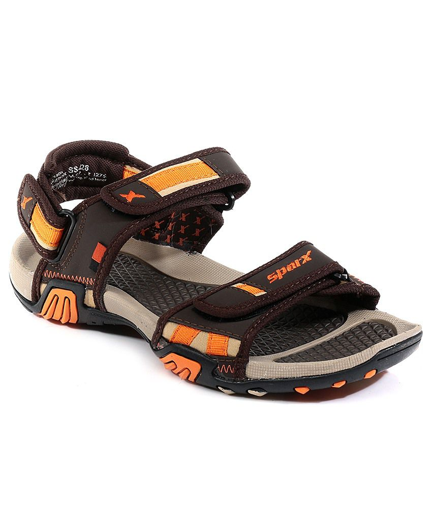 114ab3a0917c Sparx Brown Floater Sandals Art SS428BRN - Buy Sparx Brown Floater Sandals  Art SS428BRN Online at Best Prices in India on Snapdeal