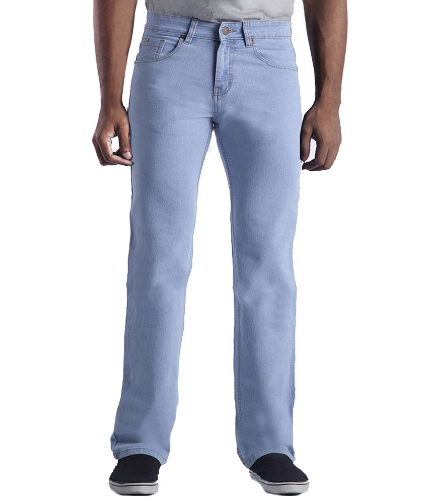 Strokejeans Blue Cotton Jeans