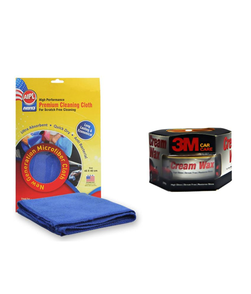 3m Microfiber Cleaning Cloth Price: 3m Car Cream Wax, Abro Microfiber Cloth: Buy 3m Car Cream