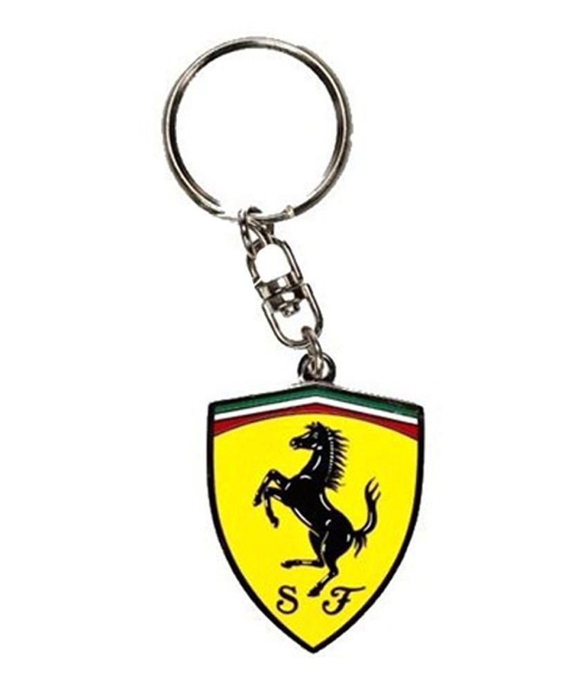 Batu Lee Multicolour Metal Ferrari Full Metal Silver