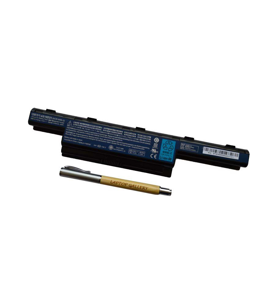 ACER GENUINE ORIGINAL LAPTOP BATTERY AS10D31 31CR19/65-2 WITH PERSONALISED WOODEN PEN