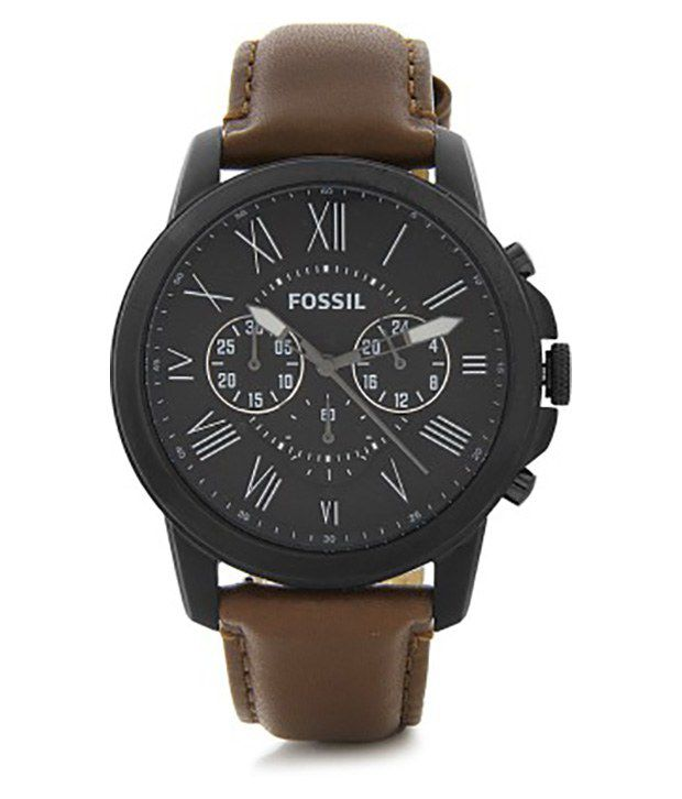 Fossil Fs4885 Men S Watch Buy Fossil Fs4885 Men S Watch Online At