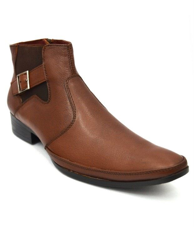 Lippy Tan Boots For Men