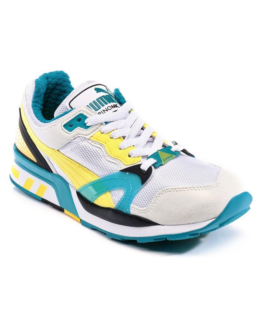 Puma Trinomic Xt 2 Plus White Sport Shoes