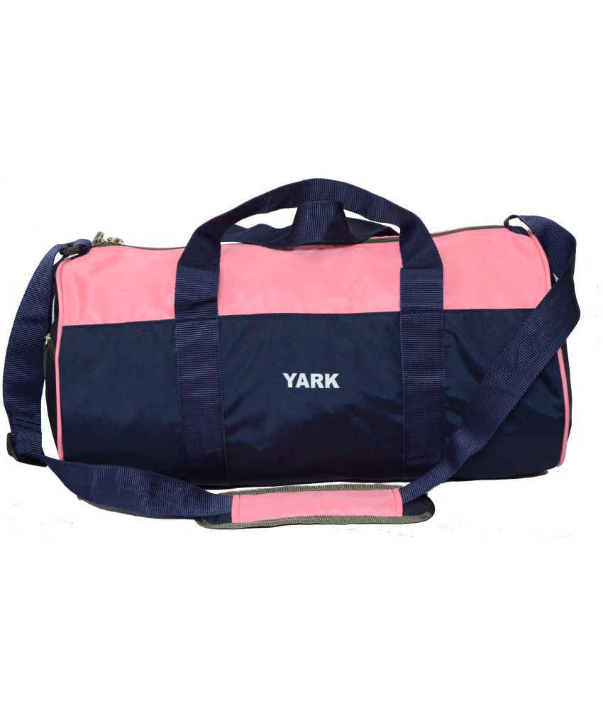 Yark Pink Travel gear Gym Bag