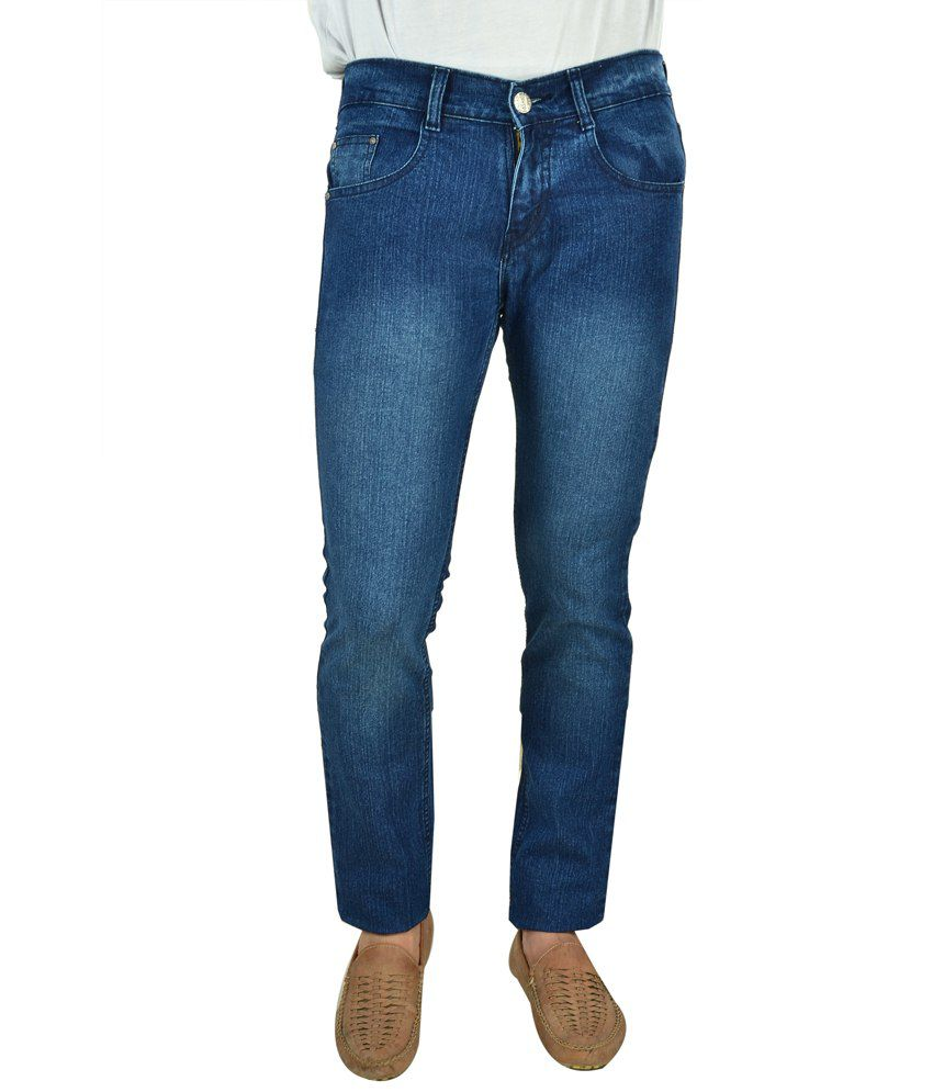 Cosmo Club Skinny Fit Blue Jeans