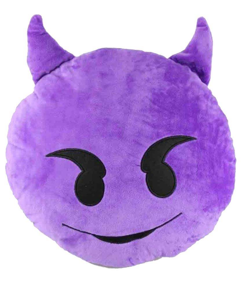 Gadget Paradise Purple Filled Cushion